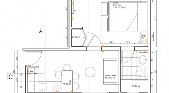 Apartamento Superior con Cama Doble-min